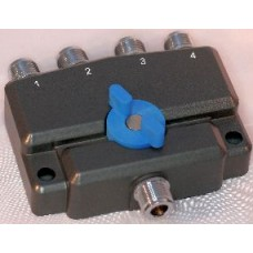 AV-SW4N 4-voudige coaxschakelaar met N-connectoren