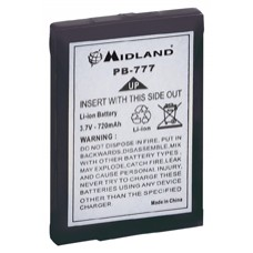 Alan-Midland PB-77 accupack,650 mAh LiOn.