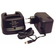 BC144N desktop lader met BC145 adaptor