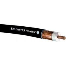 Ecoflex15 Heatex halogeenvrij en brandvertragend coax, rol 200m