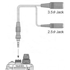 Yaesu CT-91 Microphone Adapter voor Yaesu VX-7 & FT-270