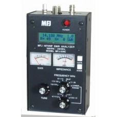 MFJ-259D antenneanalyzer-SWR meter