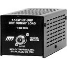 MFJ-264N   DUMMY LOAD, 1.5KW, 0-600 MHZ, N CONNECTOR
