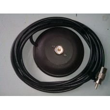 Magneetvoet met PL aansluitingen 12 cm